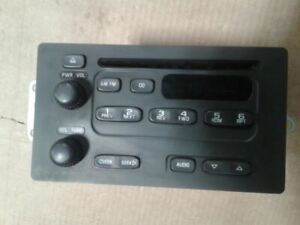 Radio Receiver CD Player 03 2003 Chevy Express 2500 15756187