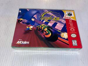 Extreme-G (N64 - Nintendo 64) 1ST PRINT - BRAND NEW SEALED H SEAM RARE!