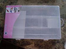 Hemline Plastic Sewing Box - M3004-L