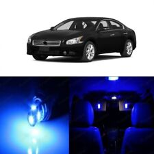 15 x Blue LED Interior Light Package For 2009 - 2014 Nissan Maxima + PRY TOOL