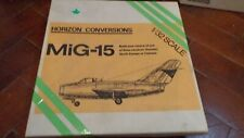 Horizon conversions  MiG-15  1/32 Made in canada ULTRA HARD new old stock