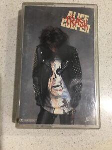 ALICE COOPER Trash (Cassette Tape) 1989