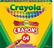 Crayola 64 Ct Crayons (52-0064), New