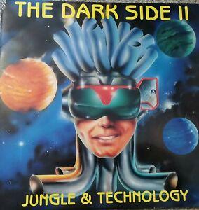 "THE DARK SIDE II - JUNGLE & TECHNOLOGY 2x 12"" Vinyl Old Skool Rave D&B Breakbeat"