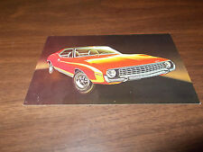1972 AMC Javelin SST Advertising Postcard
