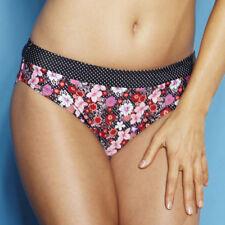 Polyamide Floral Swimwear Bikini Bottoms for Women