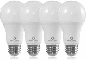Great Eagle 3-Way A19 40/60/100W Replacement LED Bulb:2700K/3000K/5000K (2-4 pk)