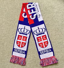 SERBIA Scarf Brand New Good Size Great Quality Knitted Scarf
