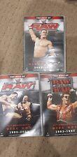 WWE - Raw 15th Anniversary (DVD, 2007, 3-Disc Set) JUST MISSING THE SHRINKWRAP