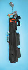 """Collapsible 6"""" Sunday Golf Club Bag 9 Hole  Driving Range Lightweight 5 -8 Clubs"""
