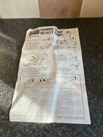 VINTAGE PALITOY ACTION MAN HANDS THAT REALLY GRIP LEAFLET L345 FAIR FOR AGE