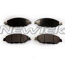 Disc Brake Pad Set-Galaxy Ceramic Disc Pads Front NewTek SCD1649