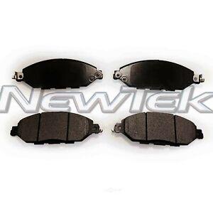 Disc Brake Pad Set-PosiTek Premium HD Disc Pad Front NewTek PMD1649