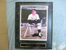 MICKEY MANTLE Signed Autographed Framed PHOTO PRINT PICTURE YANKEES Super Star