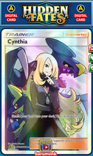 Cynthia SV82/SV94 FA Hidden Fates Supporter PTCGO TCG Digital Item Sent Fast