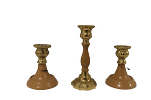 One Arms Candle Holder Candelabra Home Candlestick Wedding Table Decor set of 3