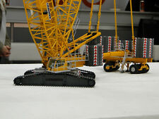 Nzg 843 Liebherr Crawler Crane LR 1600/2 With Derrick 1:50 New IN Boxed