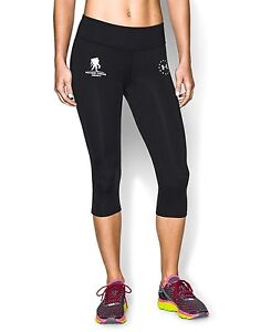 Under Armour Women's Wounded Warrior Project Capris - Black/White