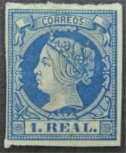 nystamps Spain Stamp # 53 Mint OG H $325   L30y1264