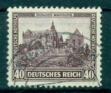 Gestempelte Briefmarken aus dem Deutschen Reich (bis 1945) mit Bauwerks-Motiv