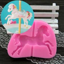 Carousel Horse Silicone Cake Fondant Decorating Baking Chocolate Sugarcraft Mold