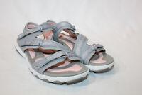 Ryka 7.5 wide grey adjustable Sport Sandals Ginger