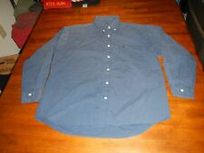 vintage ellesse perugia italy long sleeve button front shirt mens large rare
