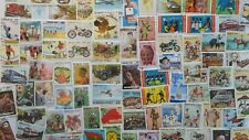 More details for 100 different burkina faso stamp collection