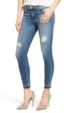 Hudson Women's Released Hem Ankle Super Skinny Mid Rise Denim Jeans 27 $235 A016