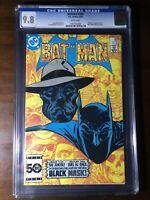 Batman #386 (1985) - 1st Black Mask!!! - CGC 9.8!!! - Key!!! - Birds of Prey!!!