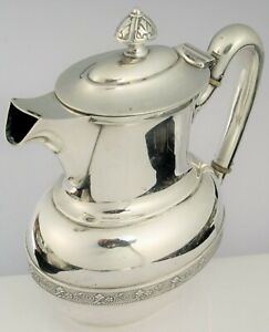 ANTIQUE PAT 1875 TIFFANY & CO BEAUTIFUL SILVER SOLDERED DEMITASSE TEA POT COFFEE