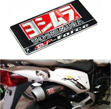 Yoshimura Sticker Aluminium Heat-resistant Motorcycle Exhaust Pipes 3D Decal