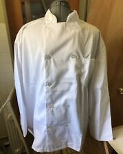 Lot of 12 White Xl Mens Chef Jacket coat millitary surplus Usa Seller