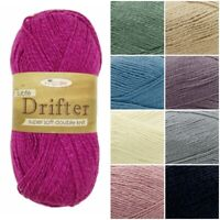 King Cole Subtle DRIFTER DK Super Soft Knitting Yarn Cotton+ Wool + Acrylic 100g
