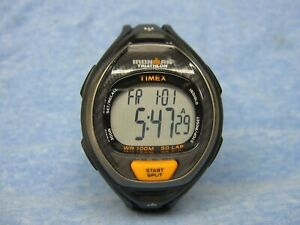 "Men's TIMEX ""Ironman Triathlon"" Digital Watch w/ New Battery"