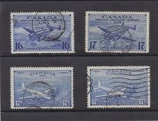Canada Used 1942-1946,#CE1-CE4  Airmail Special Delivery Set