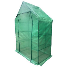 Portable Mini Outdoor Greenhouse with Walk-in 4 Rack Shelf
