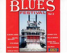 CD BLUES FESTIVAL VOL 2 Elmore james MUDDY WATERS E.A. EX+ (A0846)