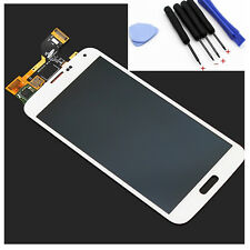 New White For Samsung Galaxy S5 i9600 G900i LCD + Touch Screen Glass Digitizer