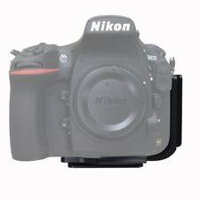 1x L-Bracket camera Quick Release QR Plate Grip Holder For Nikon D800 D800E D810