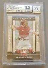 2008 Donruss Elite Buster Posey Auto Rc #/50 9.5 BGS Extra Edition TOTC