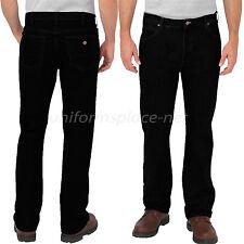 Dickies Work Jeans Mens Regular Fit Boot Cut 5-Pocket Denim Jean 12293