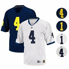 MICHIGAN WOLVERINES ADIDAS AUTHENTIC ON-FIELD GAME FOOTBALL JERSEY MEN'S