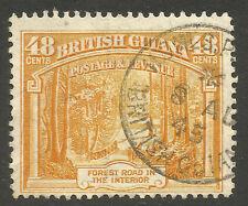 BRITISH GUIANA. GVI. 48c USED