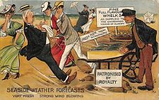 POSTCARD   COMIC   Seaside  Weather   Forecasts   Very  Fresh...