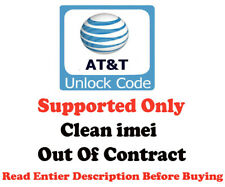 UNLOCK CODE ATT AT&T MICROSOFT LUMIA 640 OR 640 XL ONLY OUT OF CONTRACT FAST
