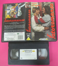 VHS film FOTOROMANZO 1990 Nino D'Angelo MONDADORI VIDEO MVEC 03022 (F178) no dvd