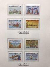 1992 Antigua And Barbuda Stamp's Discovery Of America /Columbus MNH