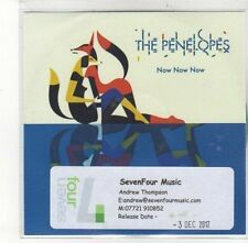 (DK710) The Penelopes, Now Now Now - 2012 DJ CD