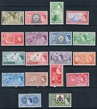 Bermuda 1953/62 Definitives SG 135/50 MNH